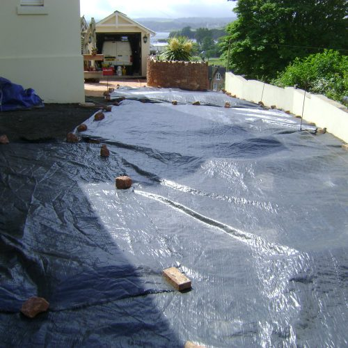 Geotextile for driveways
