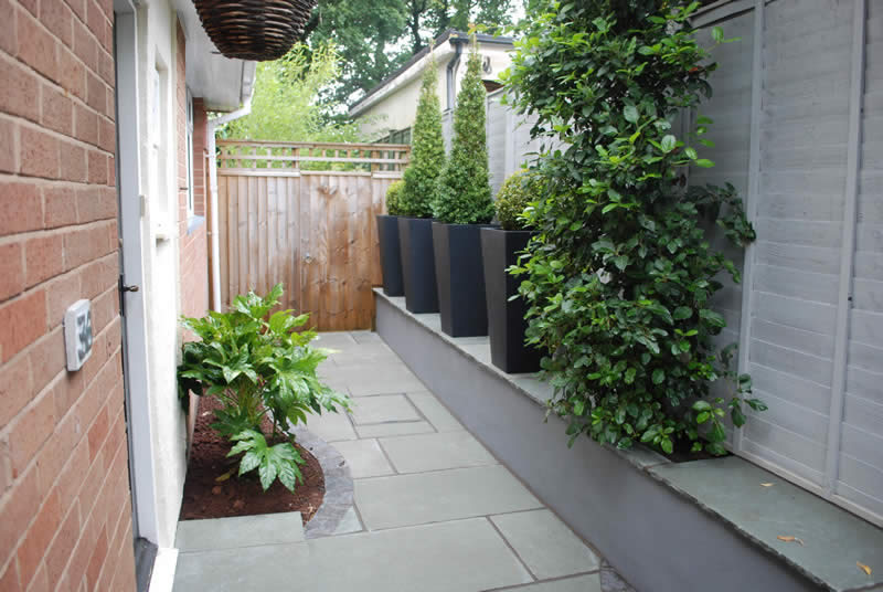 Front Garden Design in Newton Abbot, Devon