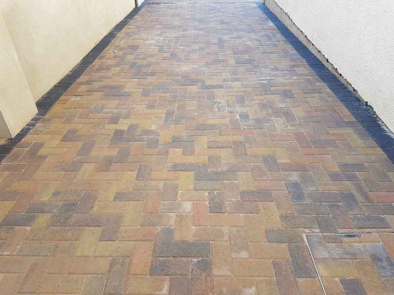 Marshalls Sunrise block paving driveway, Kingsteignton, Devon.