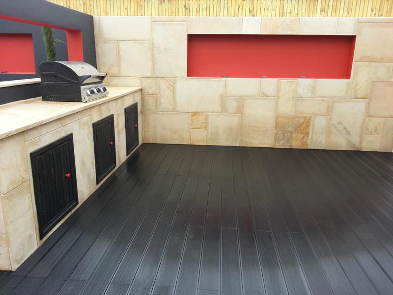 Kitchen garden installed Exeter