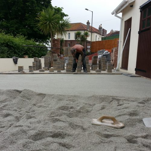 Block paving contractor Devon