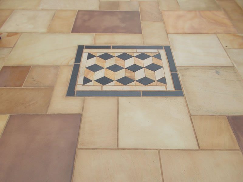 3D Patio paving design Exeter Devon