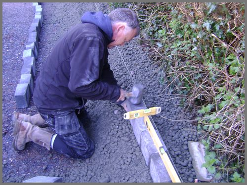 Edging kerbs Devon