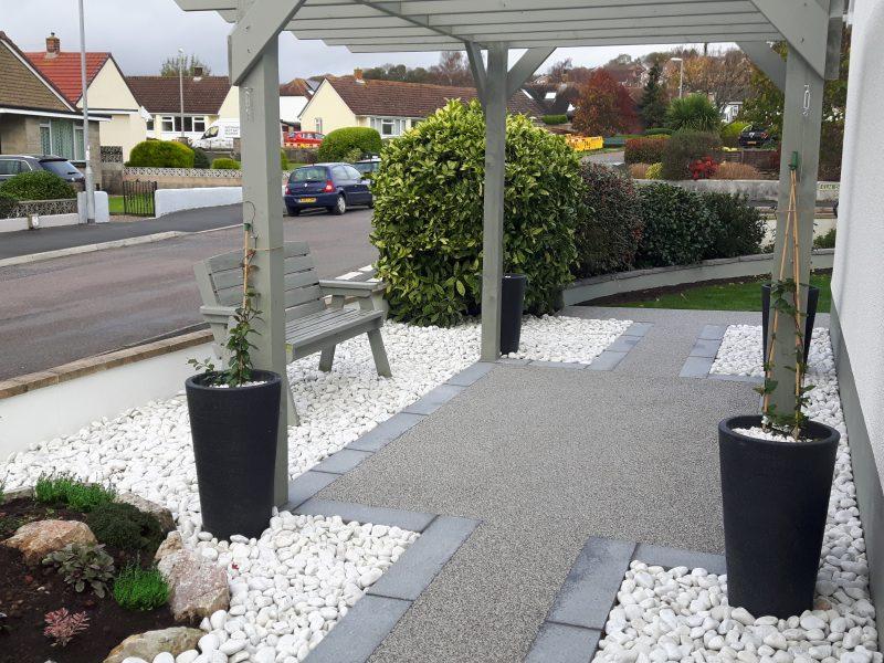 Resin flooring cover Devon